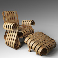 maya power play chair ottoman