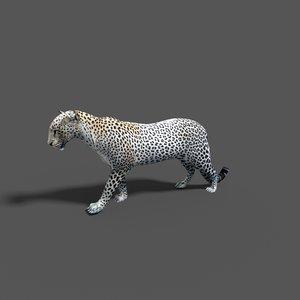 leopard 3d blend