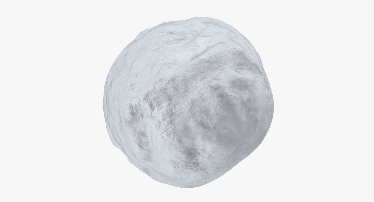 3d snowball 02 model