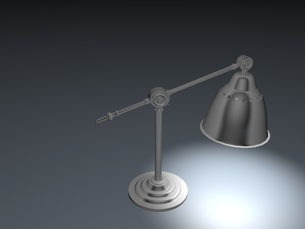 cinema4d ikea lamp