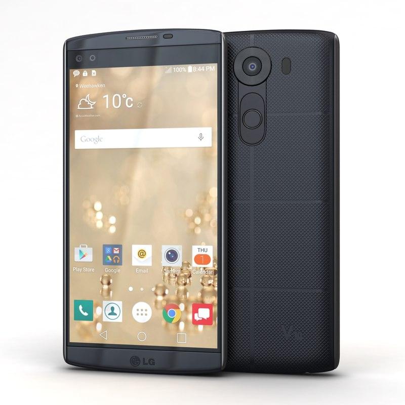 3d model lg v10 space black