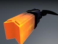 lucian gun 3d c4d