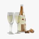 wine 3D models