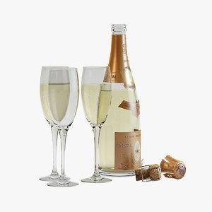 - cristal champagne open obj