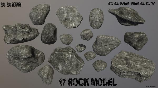 rock obj