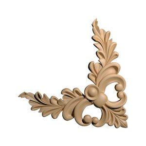3d model ornamental corner cnc