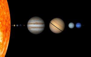 3ds max planets sun solar