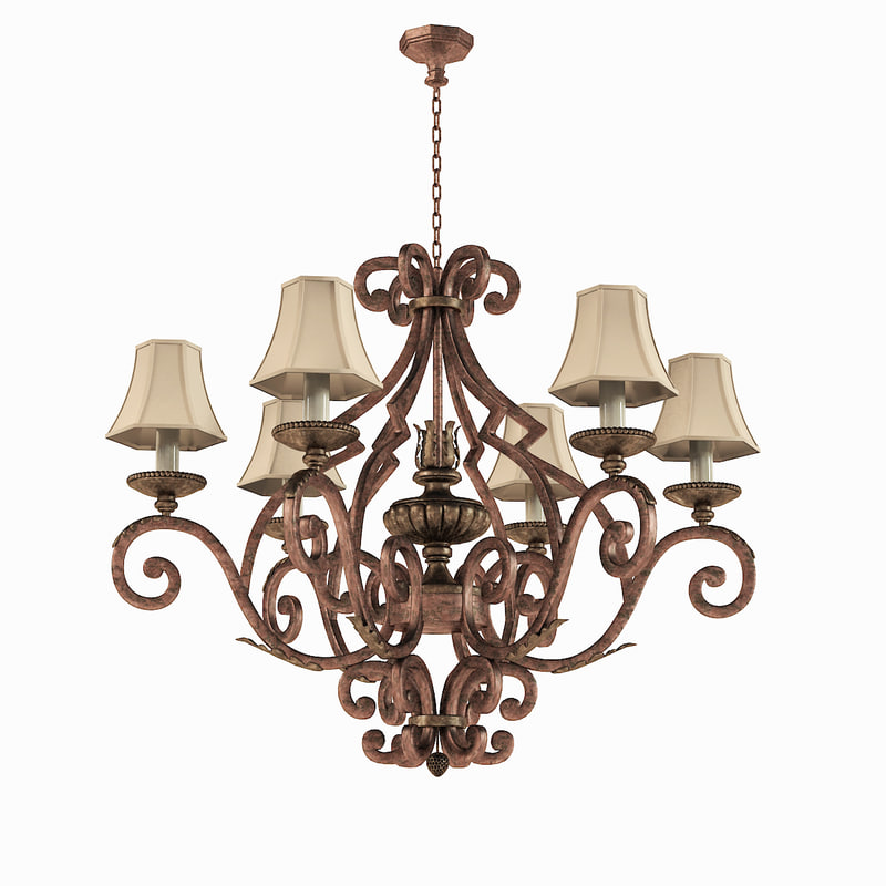 fine art lamps 3d max