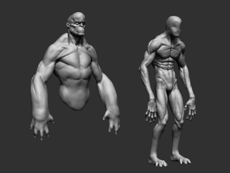 3d body form