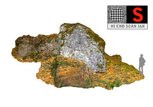 3d model climbing rock 16k