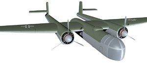 bomber arado ar e 3d model