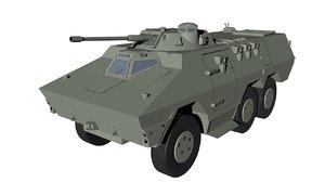 c4d ratel vehicles