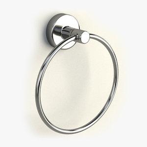towel ring 3d model