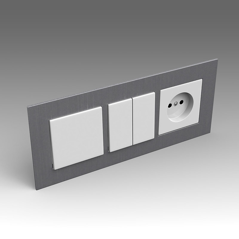 maya electrical switch outlet