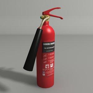 extinguisher 3d max