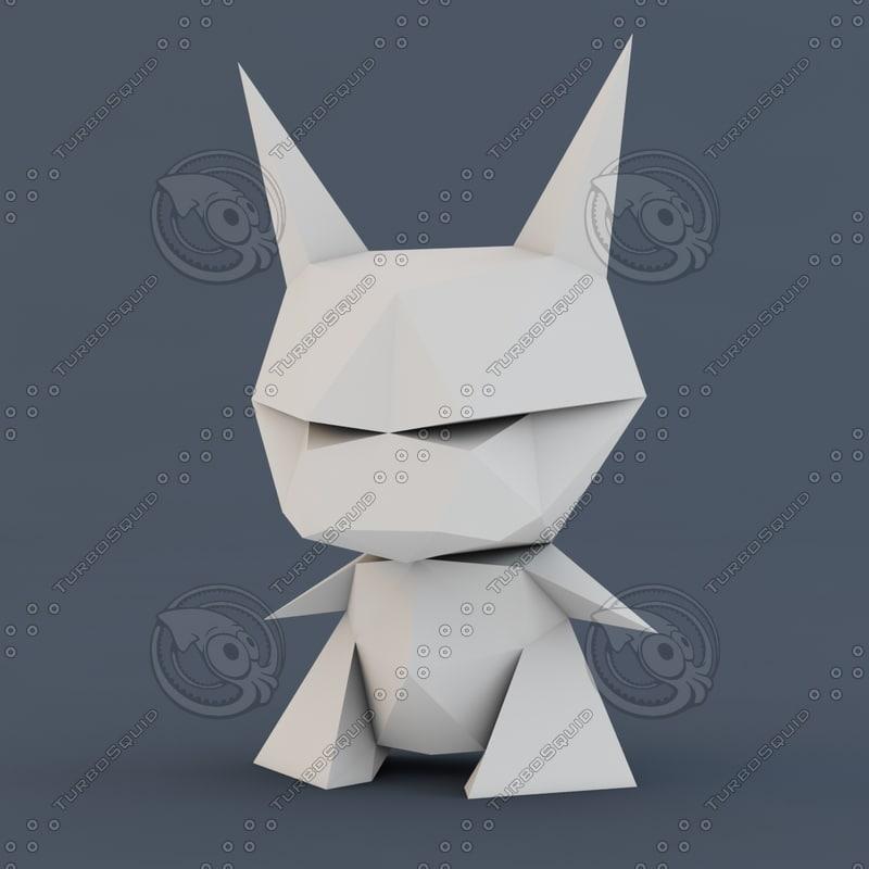 3d model evil lo