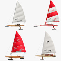 3d model iceboats ice boats