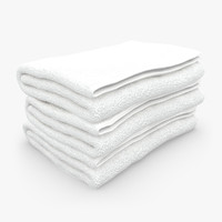 Towel Fold White