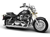 3d model triumph america 2012