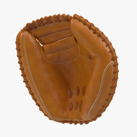 3d model catcher mitt