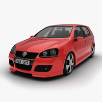 3d volkswagen golf 5