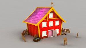 farm house 3d model