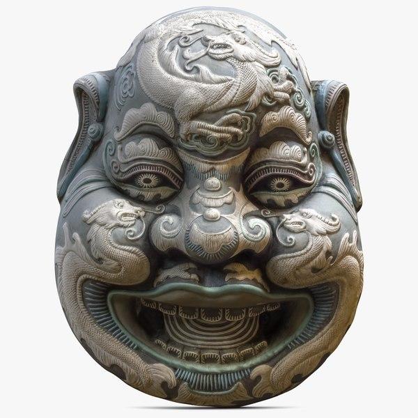 3ds max china mask