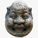 Asian Mask 3D models