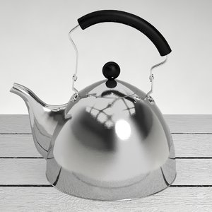 classic kettle 3d max