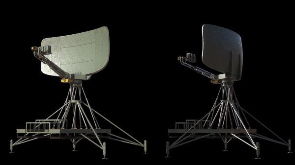 radar unit 3d max
