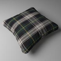 3ds max realistic decorative pillow