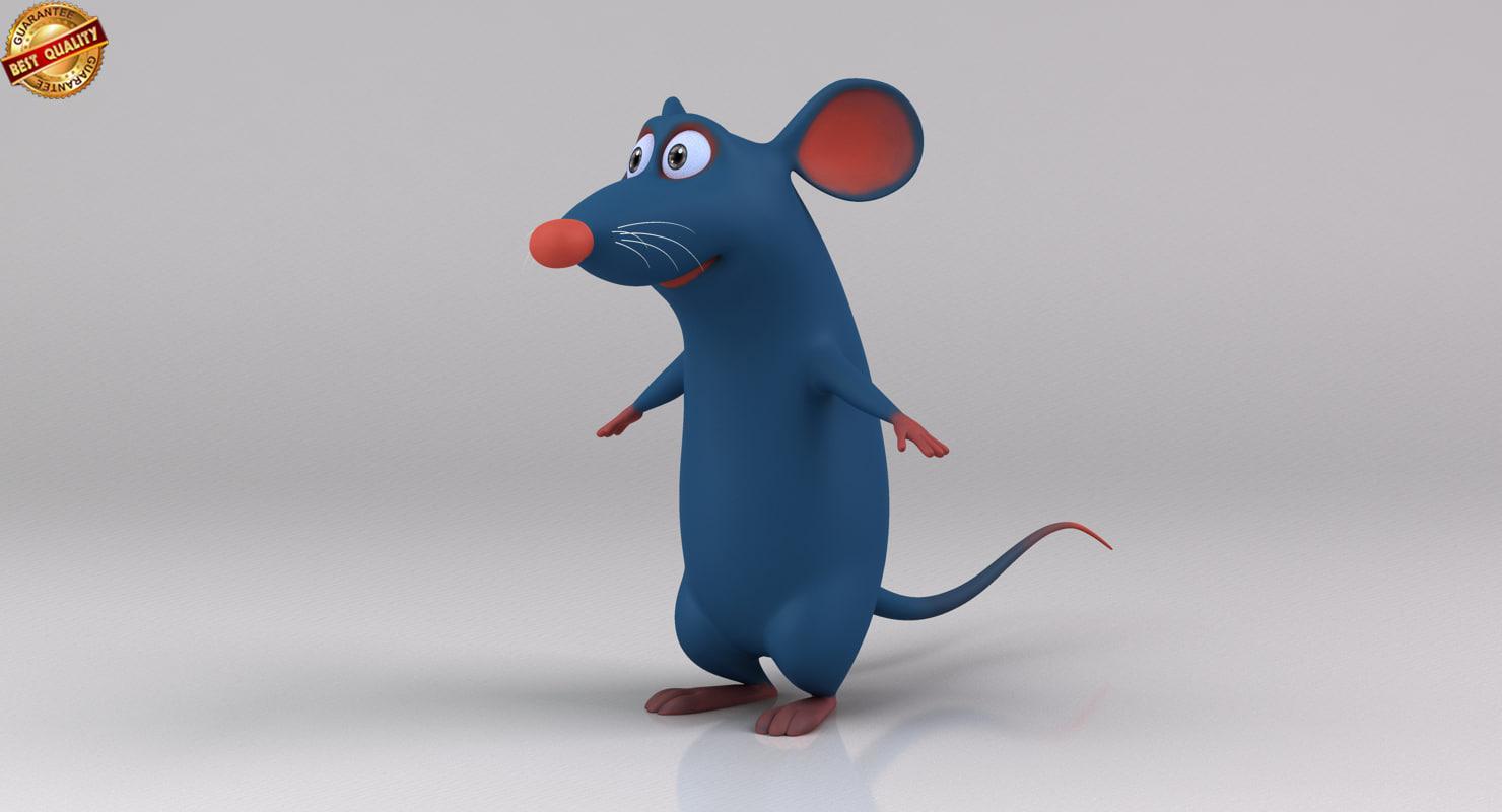 Rat 3D Models for Download | TurboSquid