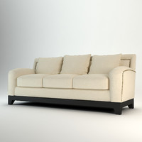 andrew martin fitzgerald sofa 3d model
