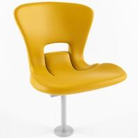 stadium seat fcb 3d model