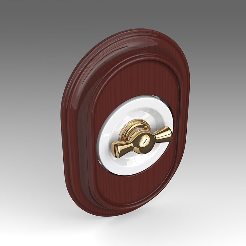 3d model of electrical switch