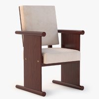 chair andr sornay 3d model