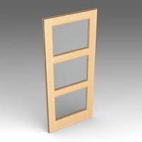 wood door fbx