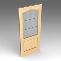 3dsmax wood door