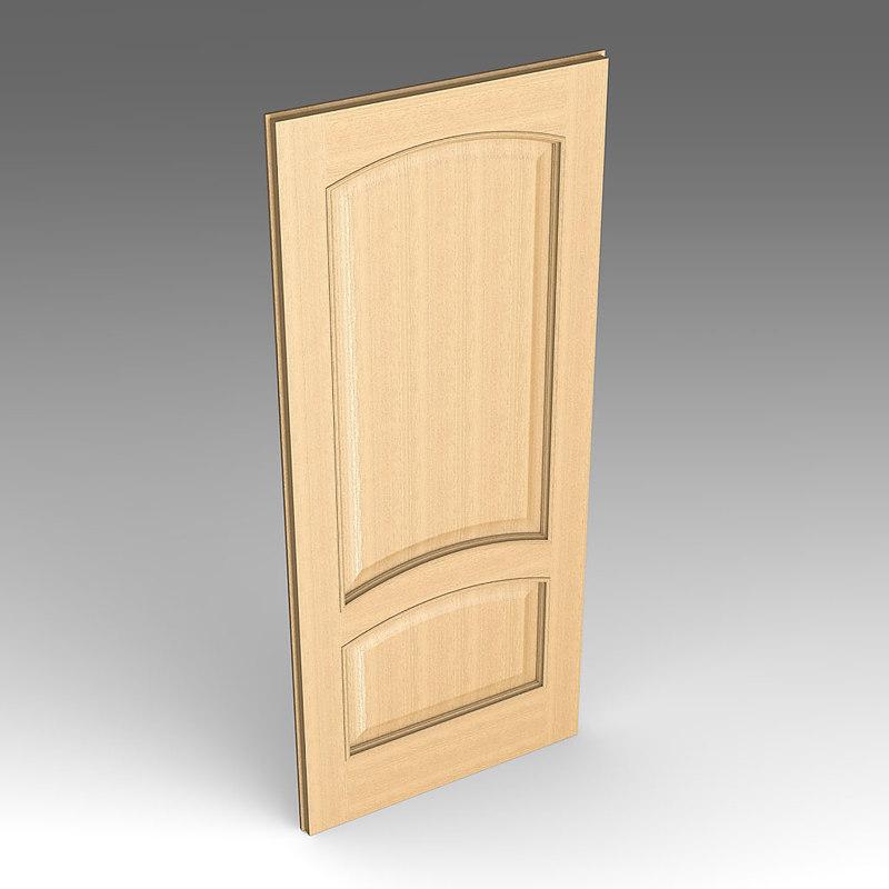 3ds max wood door