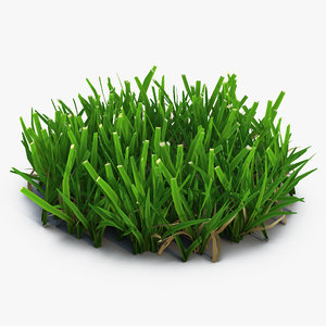 3d grass 5 model