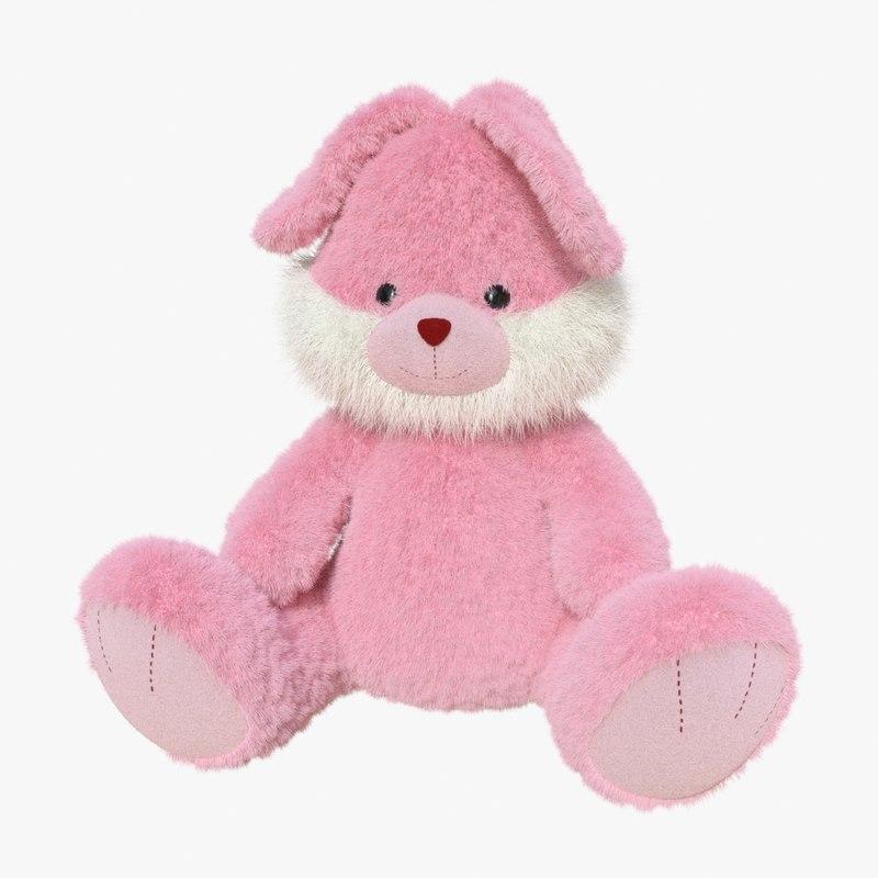 3d model toy bunny