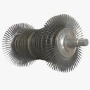steam turbine 3D models