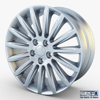 3d mondeo spoke 17 alloy wheel model