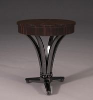 3d model of table art deco