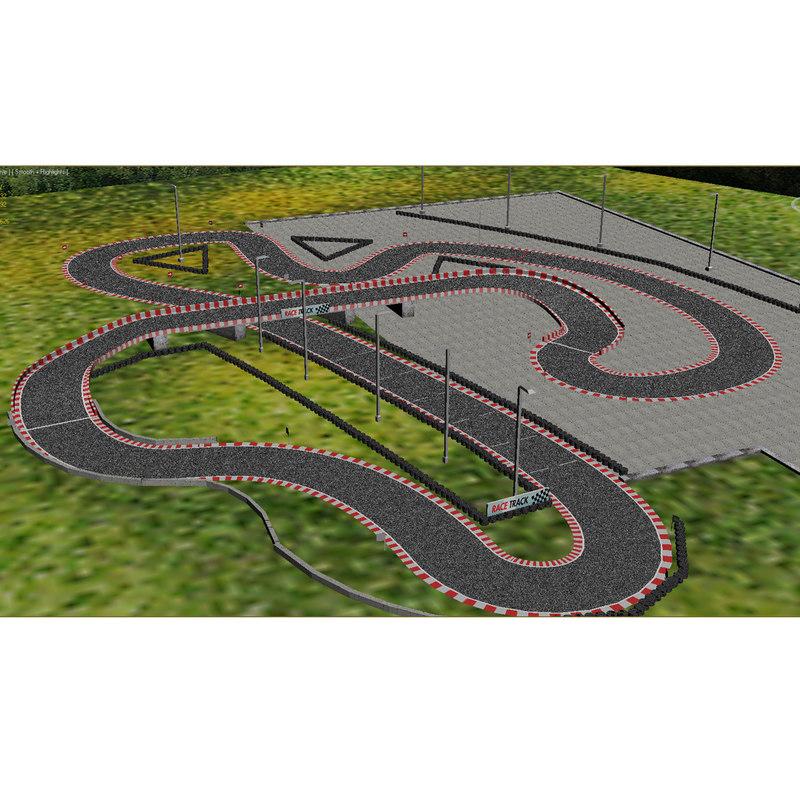 3d race track