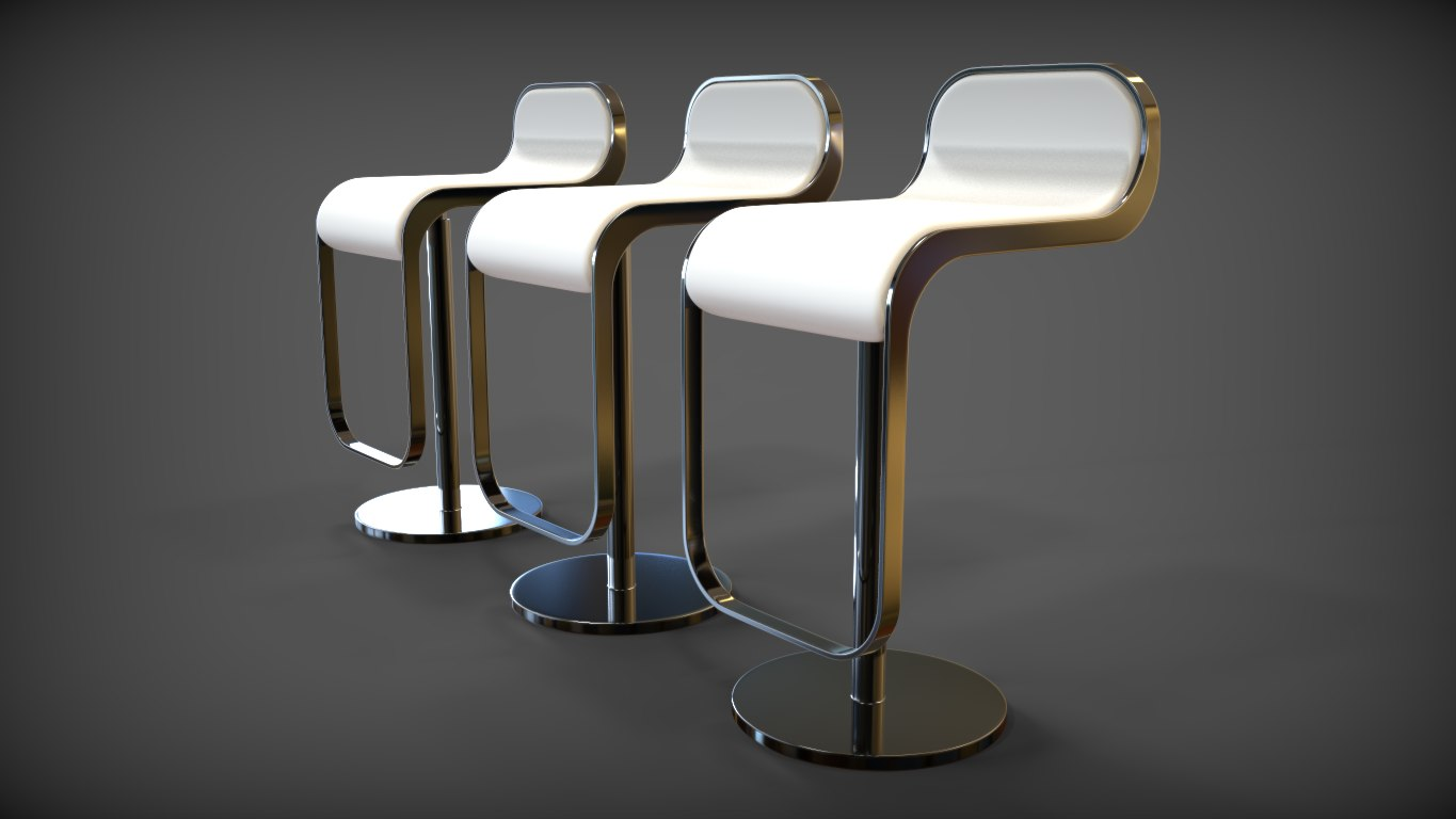 waterfall chair 3d 3ds