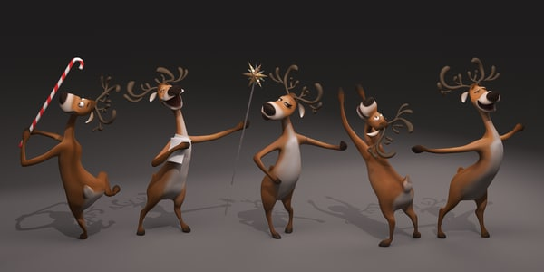 max deer cartoon