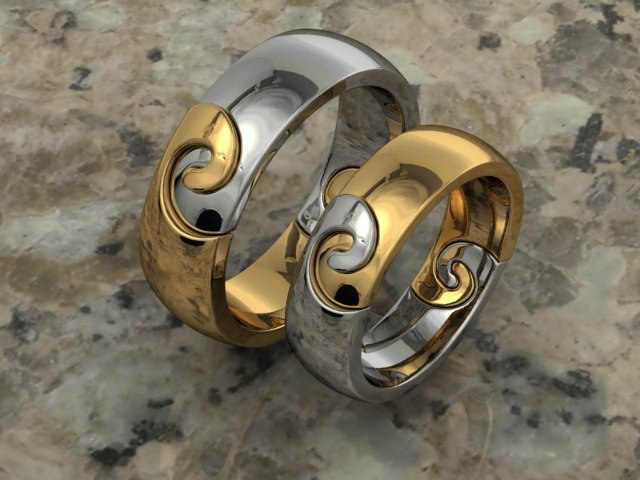 rhino wedding ring