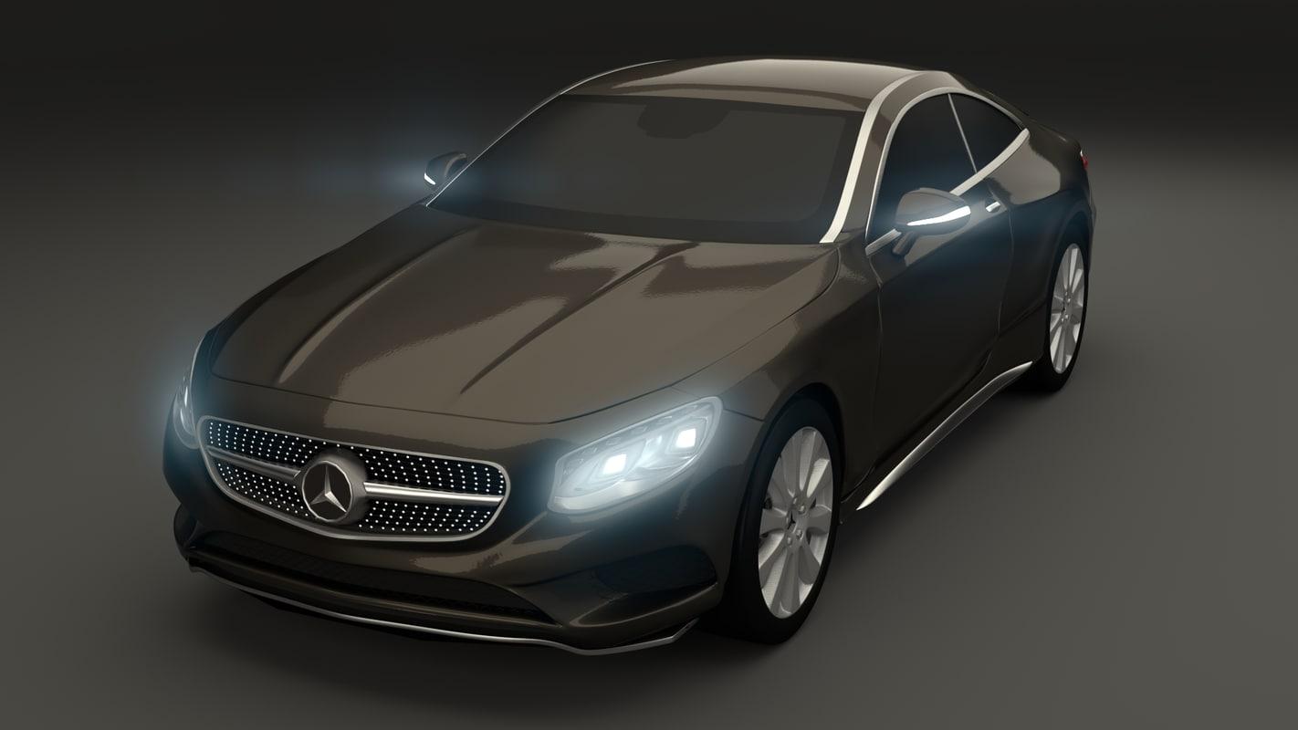 mercedes-benz s class coupe 3d 3ds