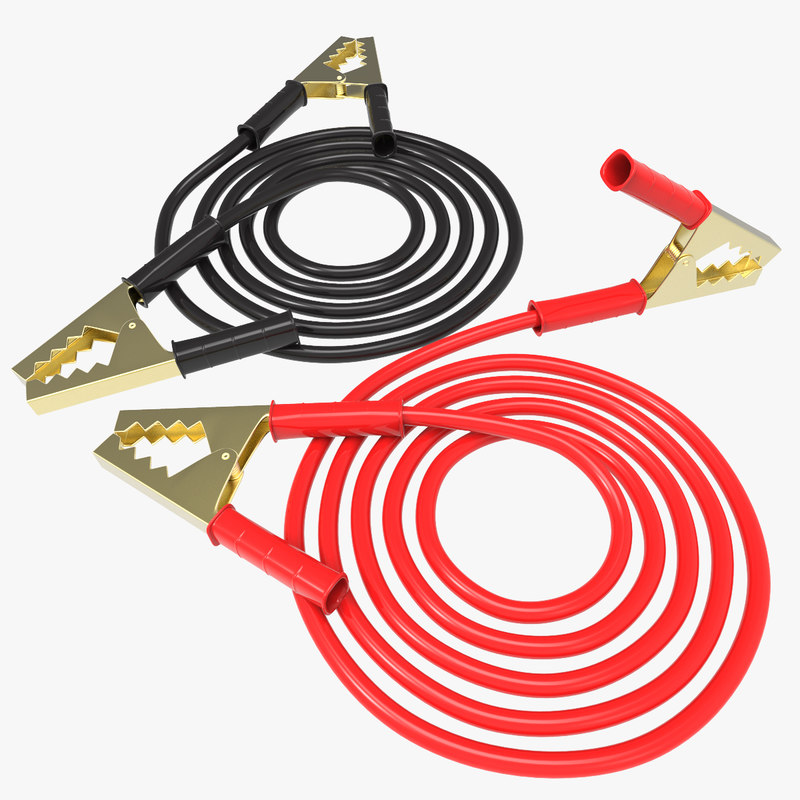 3ds max spring clamp battery cables